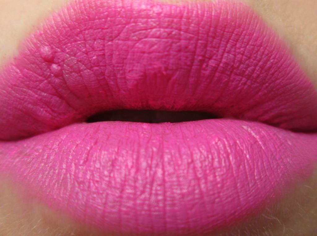 Avon Matte Electric Pink Swatch