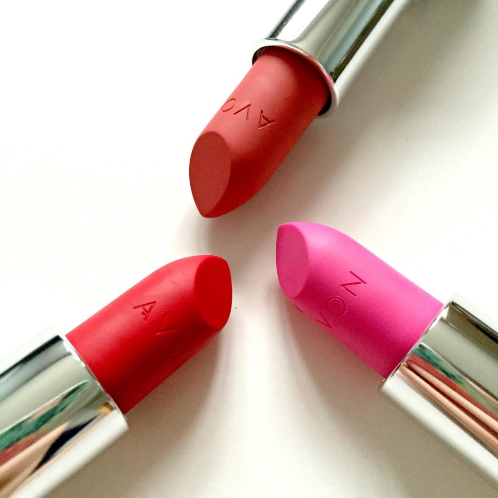 Avon Perfectly Matte Lipsticks