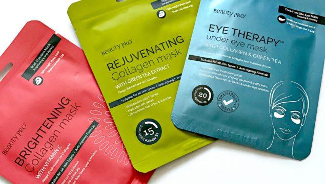 BeautyPro Collagen Face and Eye Masks