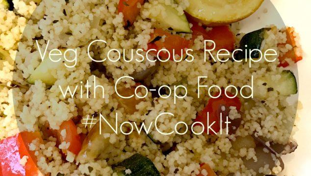 Veg Couscous with Co-Op Food #NowCookIt